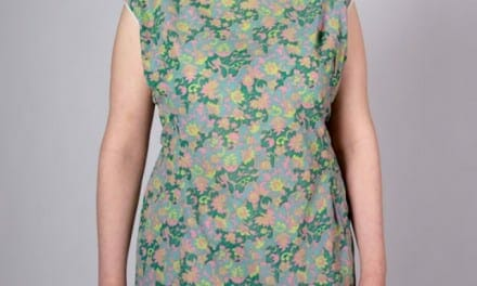 Green Paisley Summer Sheath Dress – Curvy, XL, lightweight and cool.
