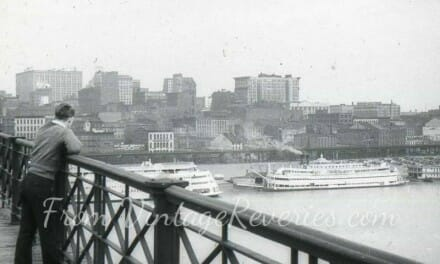 Early 1900s St. Louis Riverfront Photos