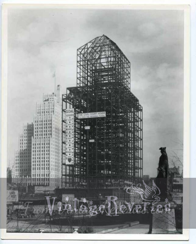 St. Louis civil courthouse under construction