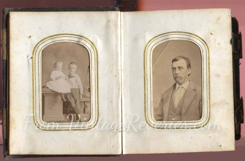 civil war children portraits