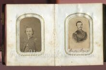 Civil War officer photos