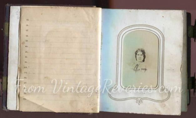 Civil War Photo Album Interior Scans – The Photographic Album