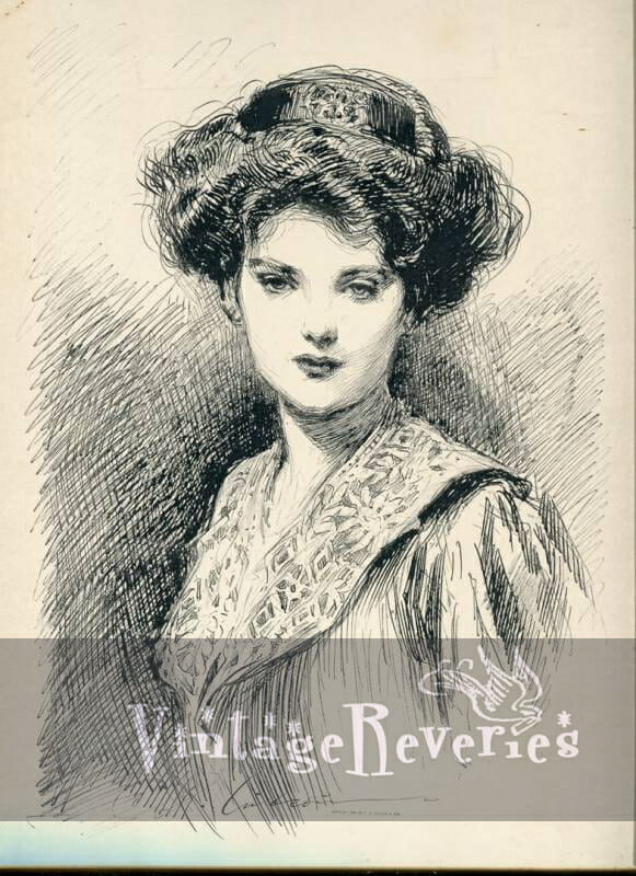The DayDream - Gibson Girl Print