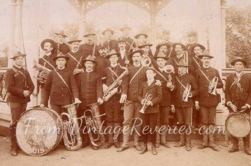 Seymour's regimental band