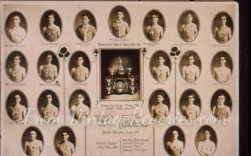 1911 sports team pictures