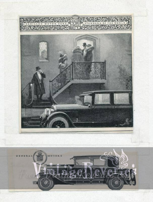 1920s Cadillac advertisement