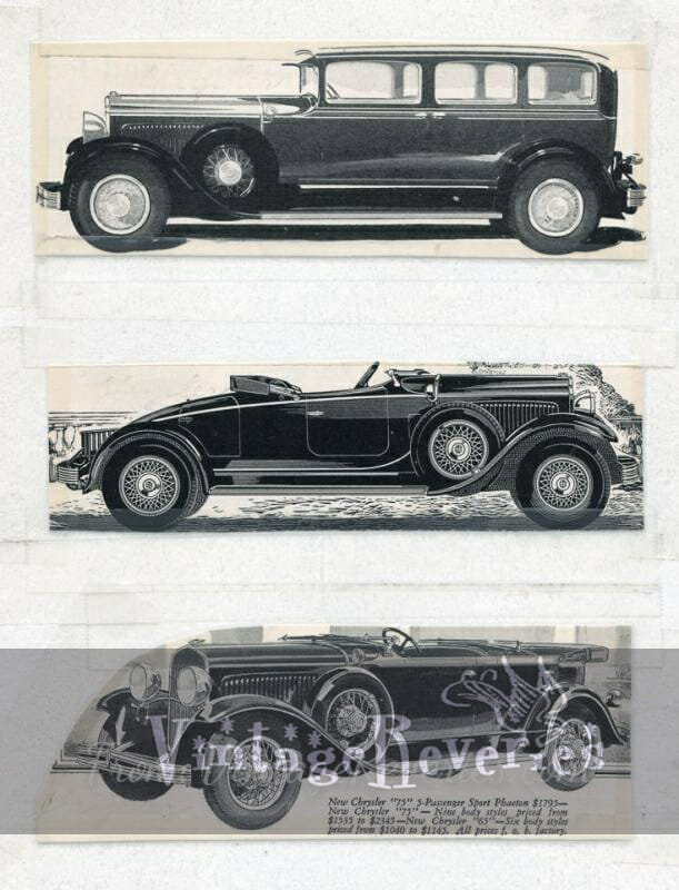 chrysler 1920s car ad