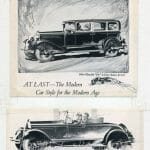 1920s automobile ads