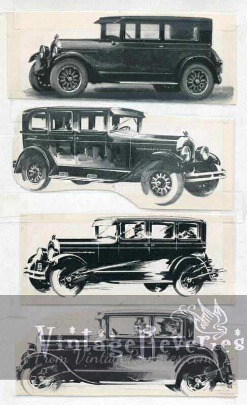 Chrysler 75 car 1920s