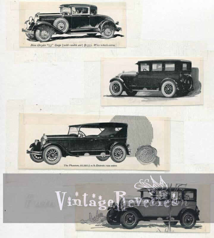 1920s chrysler ads