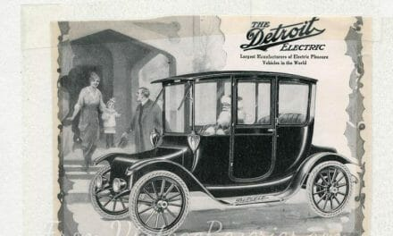 Early 1900s electric trucks advertisements