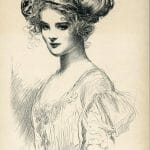the debutante gibson girl