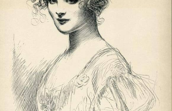 Gibson Girl Print Scans