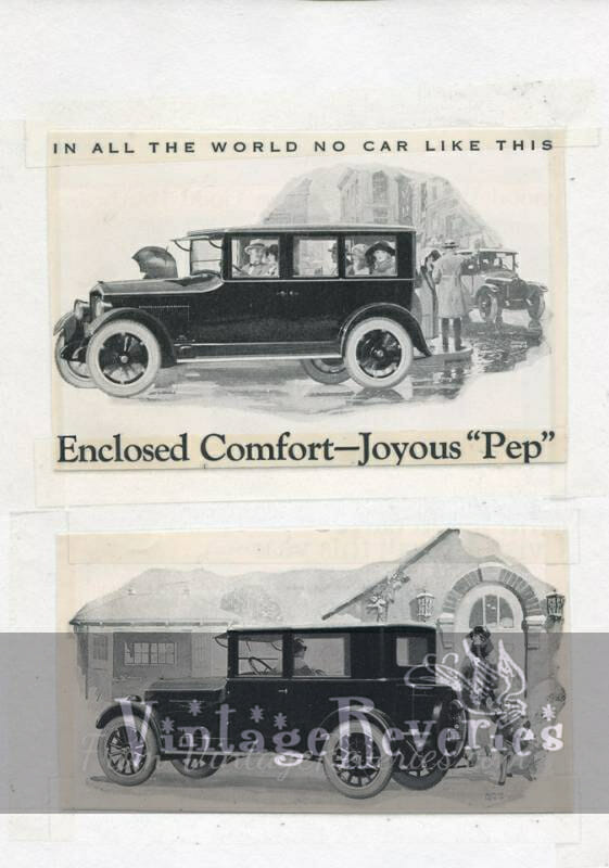 Jewett car ad