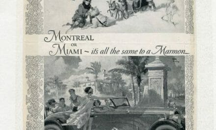 Early Marmon Car Advertisements