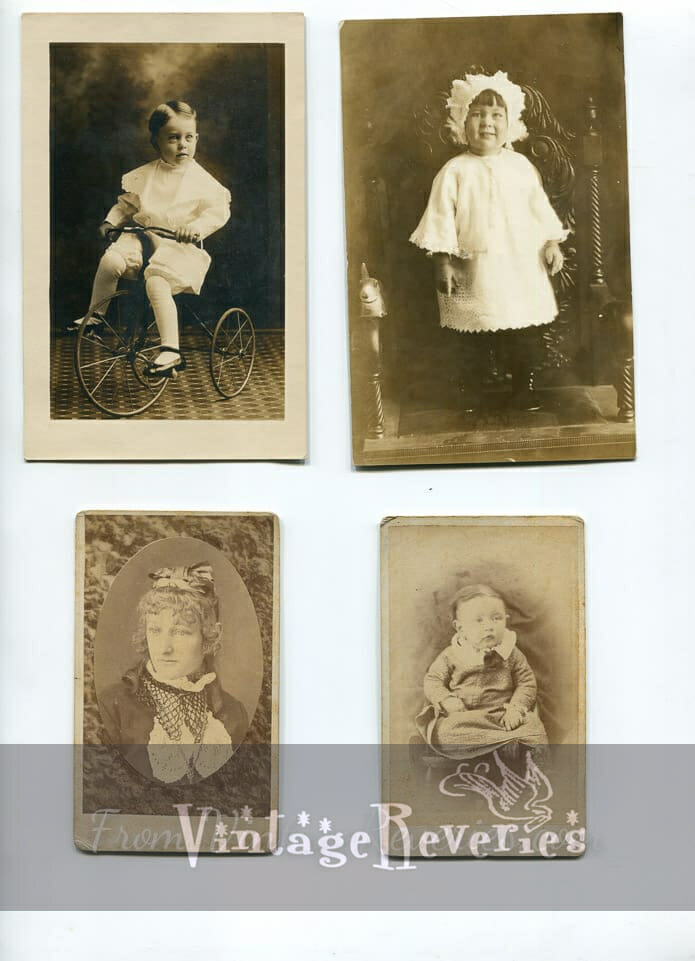 baby and children photos 1800s