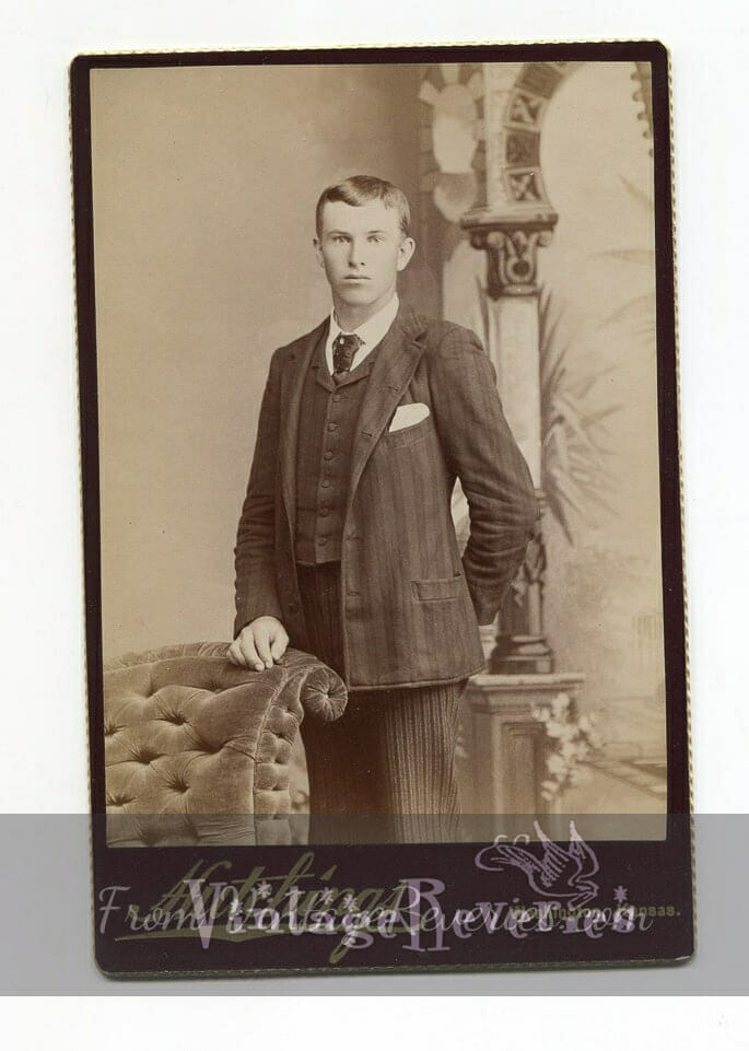 young man 1800s