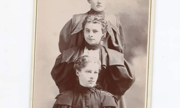 Cabinet Cards of Young Men, Children, and Couples