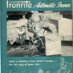 Cover and Envelope of IronRite Ironing Machine Manual