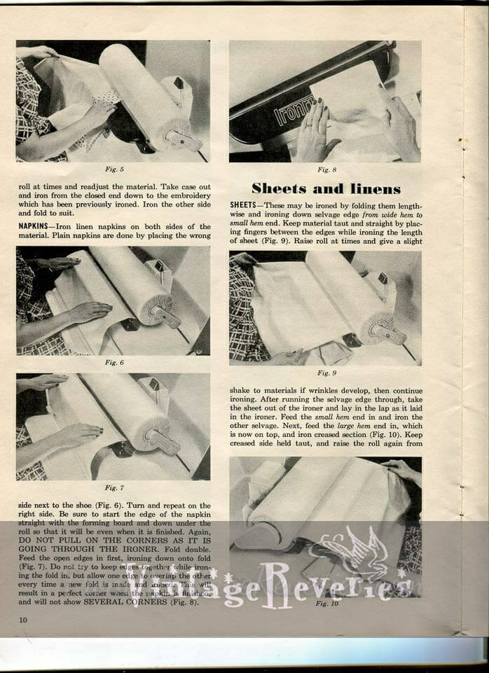 how to iron sheets