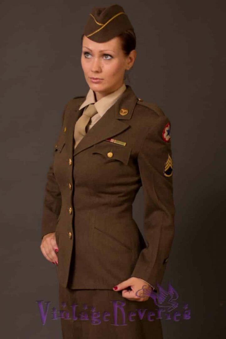 1940s WAC uniform photos