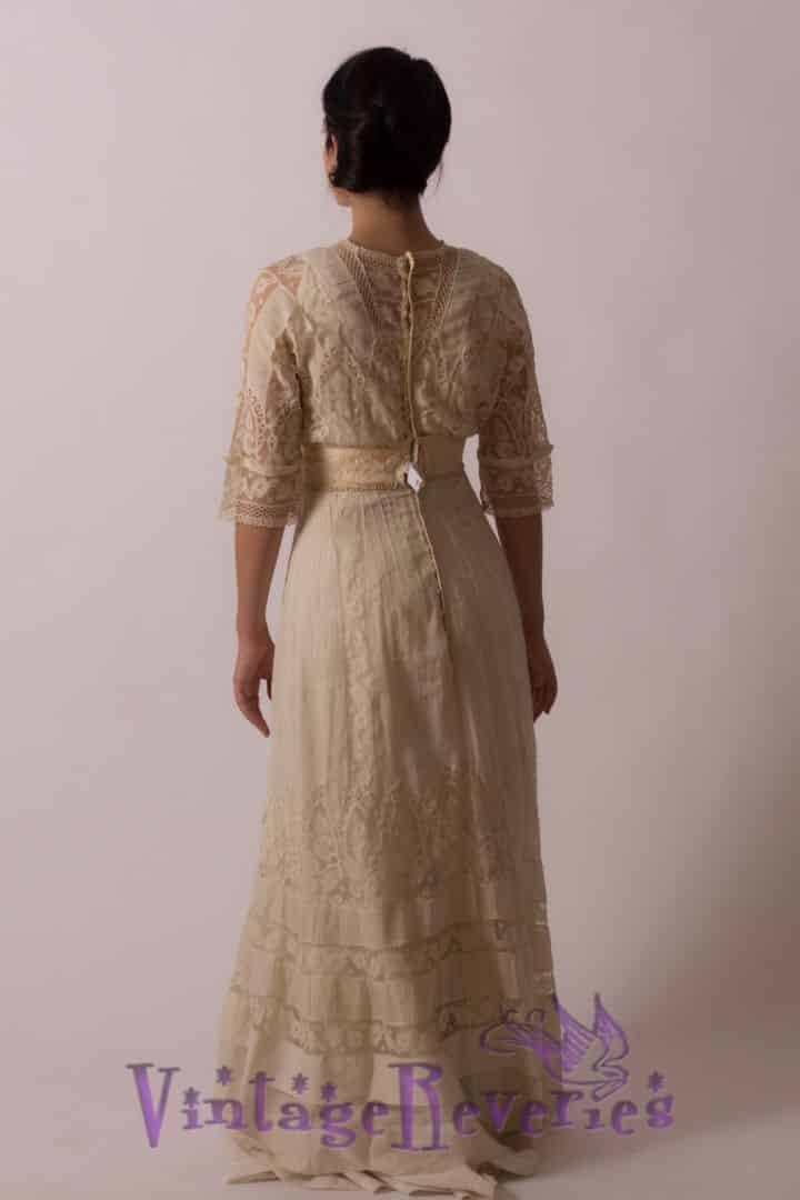 edwardian lace back