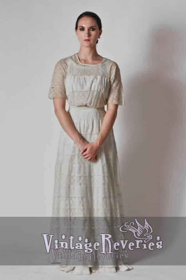 edwardian lace dress