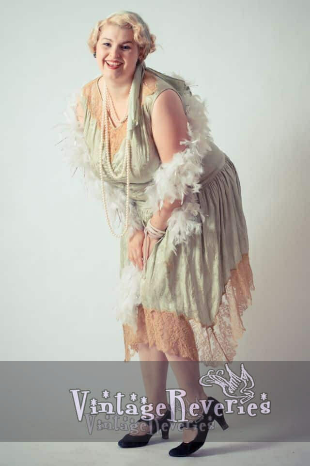 plus sized flapper