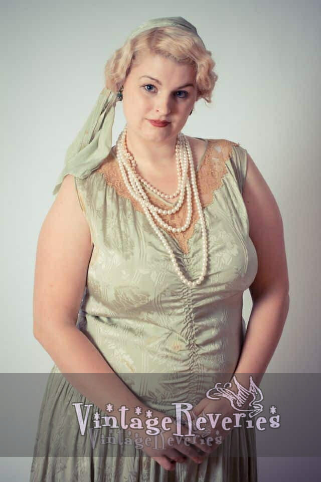 plus size flapper dress