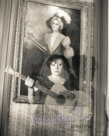 Ghost picture with The Lavender Lady Painting at the Lemp Mansion