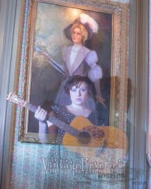 The Lavender Lady Painting at the Lemp Mansion