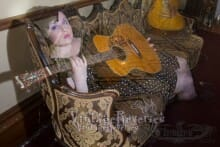 Ghost with a guitar at the Lemp mansion