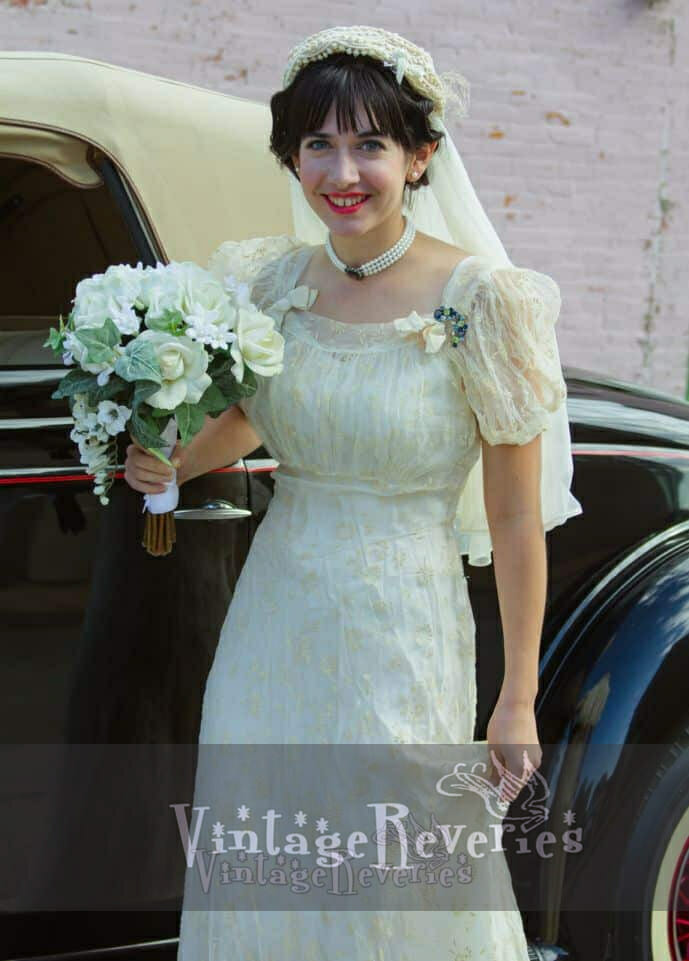 1930s Wedding Re-Creation (an attempt)