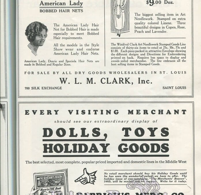 1920s Toy Advertisement & Misc Ads