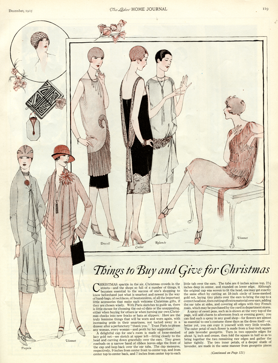 1925 winter fashion