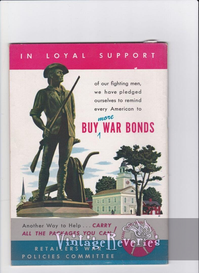 Buy War Bonds 1943 advertisement
