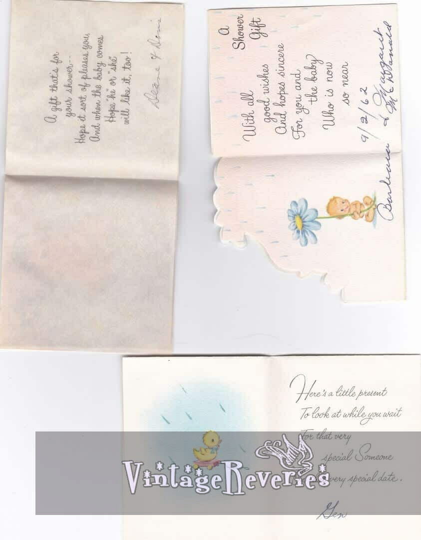 baby shower messages and rhymes