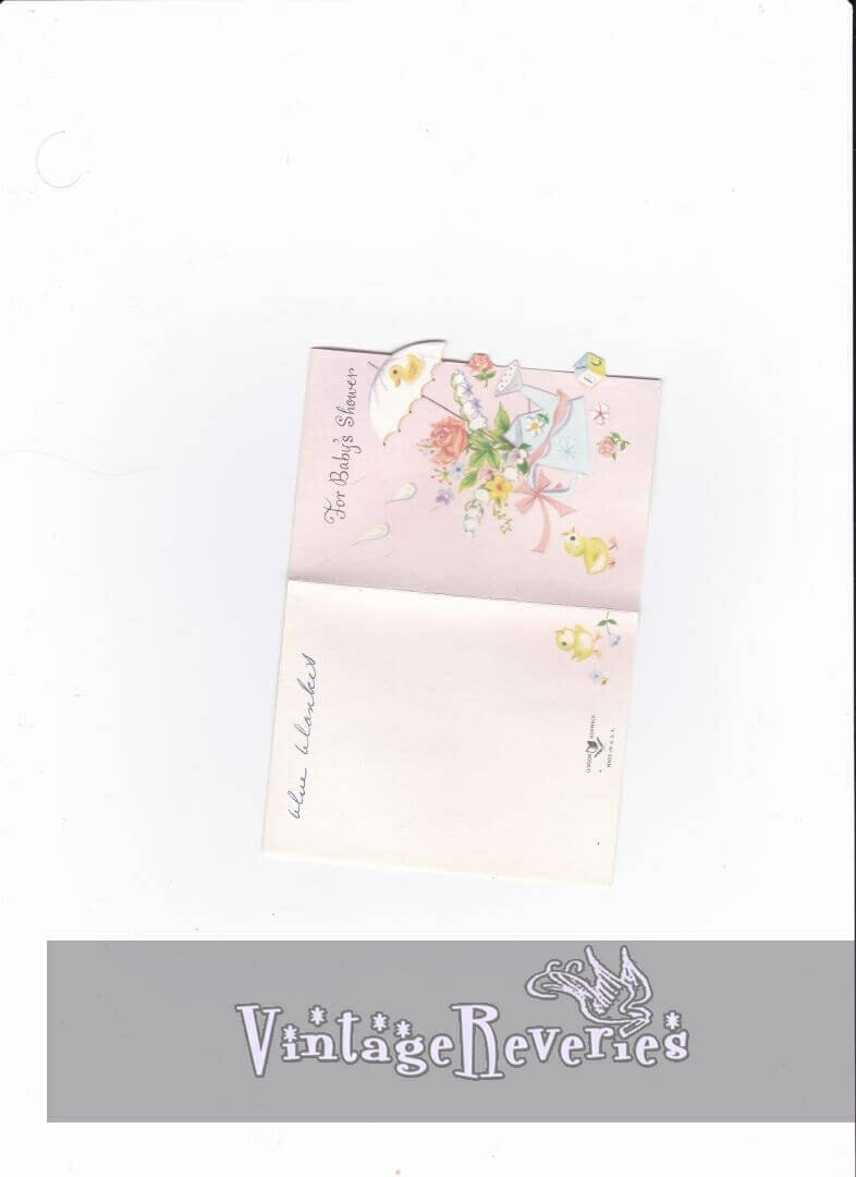 baby shower card scan