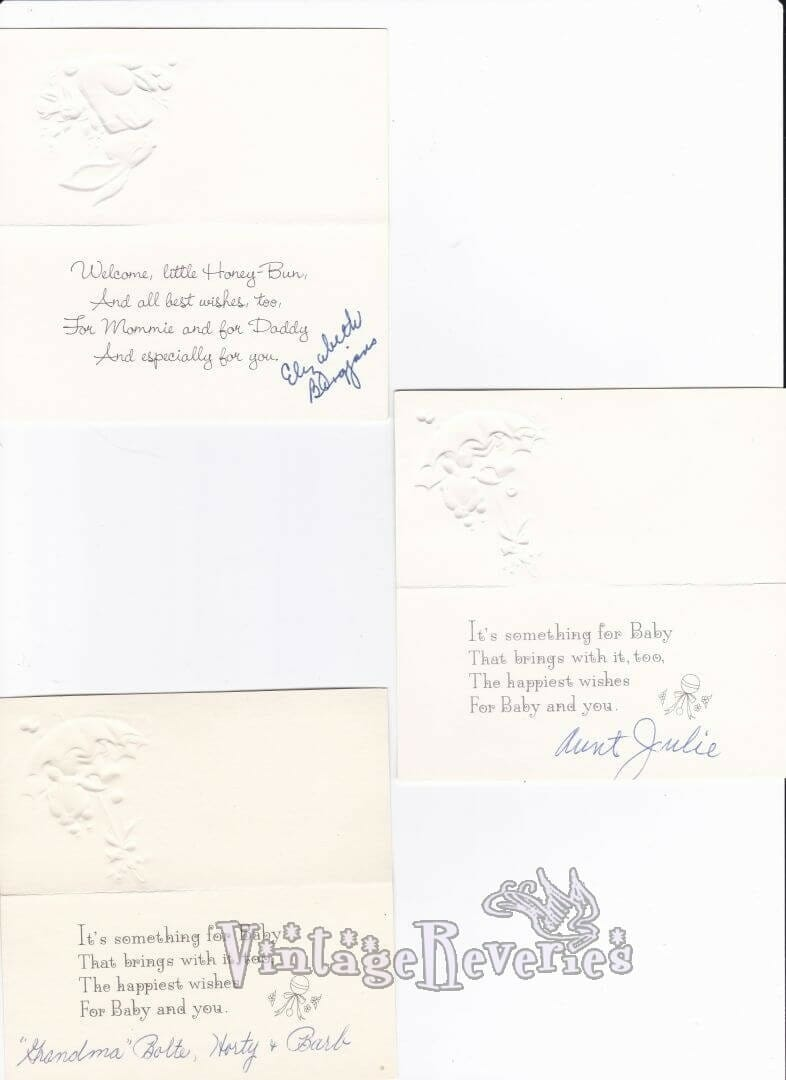 insides of baby shower cards