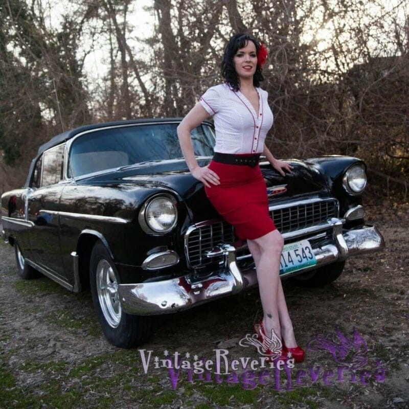 st louis pinup model