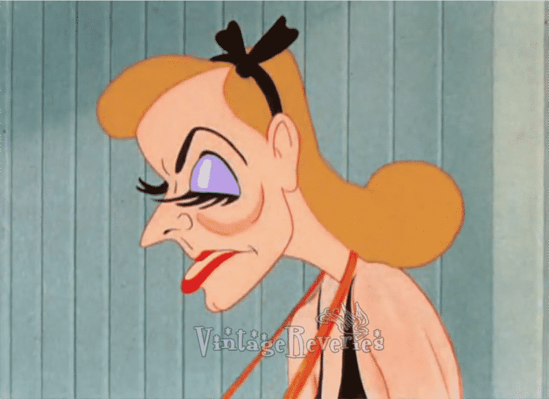 greta garbo cartoon