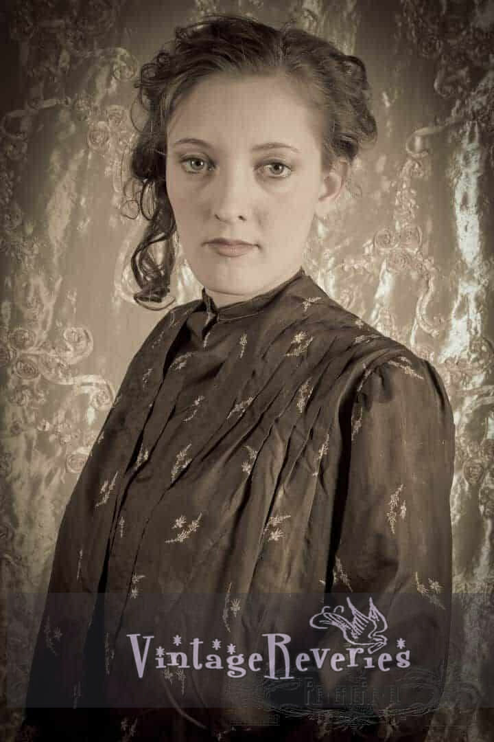 1800s styled portrait