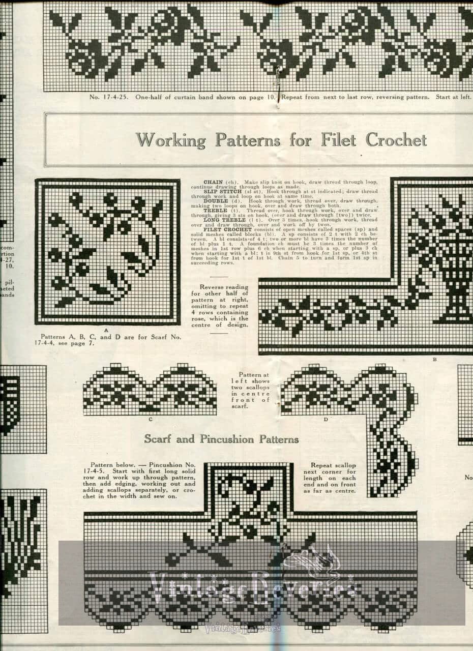 free Edwardian Lace Patterns