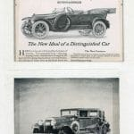 Jewett, Hudson, and Paige automobile ads
